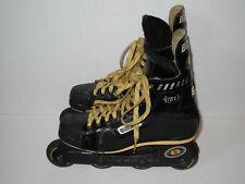 Bauer Off Ice H5 Hockey Inline Skates Roller Blades Size Men's 8D W/ 72mm Wheels