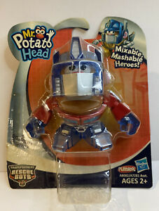 Mr. Potato Head Transformers Rescue Bots OPTIMUS PRIME Figure New In Box
