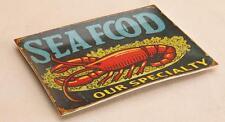 Seafood Specialty Lobster Platter Sea Ocean Beach Demdaco Retired Nib