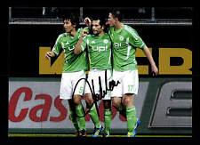 Hasan Salihamidzic VFL Wolfsburg Foto  13x18 Original Signiert+G 15988