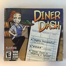 Diner Dash PC Game  New Sealed