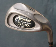 Tommy Armour Ti 100 Pure Titanium 8 Iron Original Regular Flex Graphite Shaft