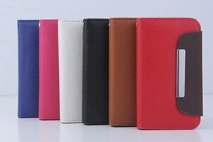 Wallet Case Cover Stand PU Leather iphone 4 4g 4s