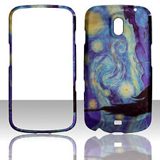 New Blue Art Design Starry Night  for Samsung Nexus LTE i515 Verizon case cover