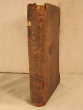 rare antique old leather The Wonders of Creation geography history 1807 first ed