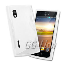 M-white TPU Silicone Case Cover Skin for LG Optimus L5 / E610 / E612 / LG E610
