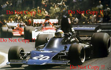George Follmer UOP Shadow DN1 Spanish Grand Prix 1973 Photograph