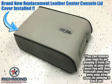 2007 2008 Lincoln Mark LT -Replacement Leather Center Console Lid Cover, Gray