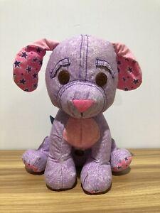 1995 Vintage Tyco Doodle Pet Dog Purple and Pink EUC