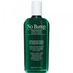 GiGi No Bump Topical Solution Prevents Ingrown Hair Bumps from Waxing 118ml