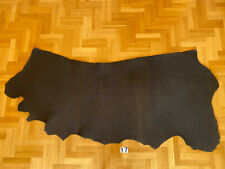 Vegetable Tanned Leather 4,3-4,8 mm Black Crust Side Full Grain High quality Cow