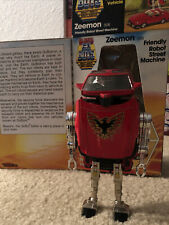 Vintage Tonka Super GOBOTS 1984 ZEEMON (026) Friendly Robot Street Machine w/Box