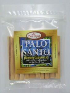 Palo Santo by The Best Things, 10 Sticks, 2 Ounces, For Peace and Tranquility