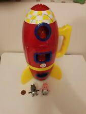 Peppa Pig Spaceship Adventure Playset con Moon Buggy, Rocket, George, Danny Dog