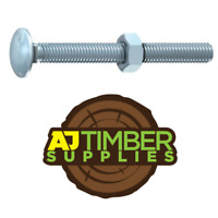 M6 A2 STAINLESS STEEL CUP SQUARE CARRIAGE BOLT COACH SCREW DIN603 6mm CE