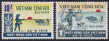 VIETNAM du SUD N°420/421** Agriculture, 1972 South Viet Nam #415-416 Farming MNH