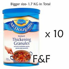 10 x 170g McDougalls Instant Thickening Granules - 1.7kg in Total