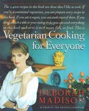 Vegetarian Cooking for Everyone by Deborah Madison (1997, Hardcover)