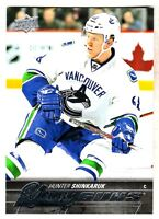2015-16 Upper Deck YOUNG GUNS #462 HUNTER SHINKARUK RC Rookie Vancouver Canucks