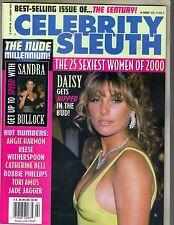 DAISY FUENTES Celebrity Sleuth Magazine 2000 Vol 13 No 2 SANDRA BULLOCK