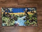 "Vintage Pheasant Tapestry 38"" x 19 1/4"" Made In Belgium (RB Tub X)"