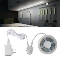 Flexible LED Strip Under Bed Night Light Activated Motion Sensor Lamp Warm White