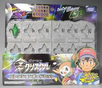 Pokemon Z Crystal collection board set(One crystal) F/S with Tracking# New Japan