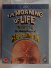 The Moaning of Life Series 1+2 (Blu-ray Region-Free)~~~~~Karl Pilkington~~~~~NEW