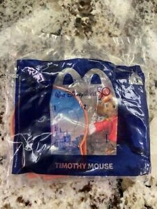 WALT DISNEY WORLD 50th ANNIVERSARY McDONALDS HAPPY MEAL TOY TIMOTHY MOUSE #3