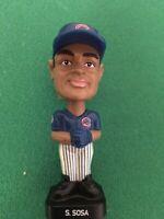 "#21 Chicago Cubs SAMMY SOSA Post Cereal Mini Baseball Bobblehead 3"" 2002"