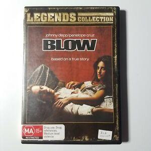 Blow | DVD Movie | Johnny Depp, Penelope Cruz | 2009 | Action/Drama | Pre-owned