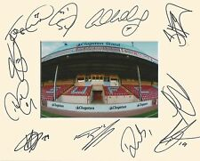 A 10 x 8 inch mount personally signed by 11 Scunthorpe players on 13.08.2016 (2)