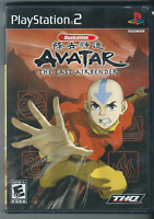 Avatar: The Last Airbender (Sony PlayStation 2, 2006) Complete w/ Manual.