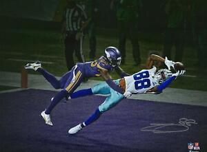 "CeeDee Lamb Dallas Cowboys Signed 11"" x 14"" TD Catch Spotlight Photo - LE 88"