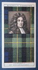 Cambell of Breadalbane     Clan Tartan   Original 1920's  Vintage Card   VGC