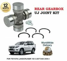 FOR TOYOTA LANDCRUISER 150 3.0DT D4D 2009->NEW REAR GEARBOX UJ JOINT KIT