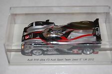 Audi R18 Team Ufficiale 5th Le Mans 2012 Spark 1:43