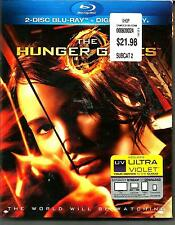 *The Hunger Games* [2-Disc Blu-ray*Like new Condition*Free shipping in USA*