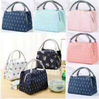 Insulated Thermal Lunch Box Bag Outdoor Camping Picnic Carry Tote Storage Bags