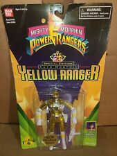 Mighty Morphine Power Rangers Yellow Ranger 1995 Metallized Bandai New In Box
