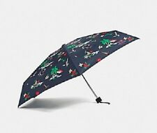 NWT $65 COACH MINI UMBRELLA HULA GIRL PRINT 31644