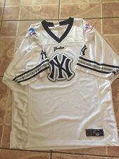 Lee Sport NEW YORK YANKEES XL Baseball V-Neck Mesh Jersey