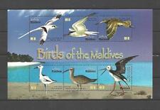 Iles Maldives 2010 oiseaux bloc feuillet neuf ** 1er choix