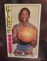 1976 Topps Basketball #20 Nate Archibald HOF