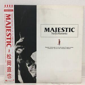 NAOYA MATSUOKA / MAJESTIC JAPAN ISSUE LP W/OBI, INSERT