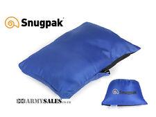 Snugpak SNUGGY HEADREST Lightweight Pillow for Camping or Travel Saphire BLUE