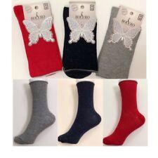 3 Pairs Women Ladies Metallic Glitter Shimmer Socks Casual Ankle Loose Socks