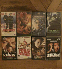 Lot 8 Cassettes VHS Rush Hour 2  Spideman 2 Stat Trek Hulk l'Enjeu Talisman etc