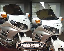 """Honda Goldwing GL1800 Convertible Baggershield Windshield 14.5""""-25.5"""" (Visible)"""