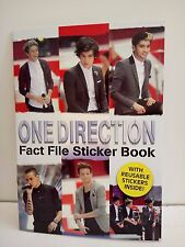 One Direction: Fact File Sticker Book